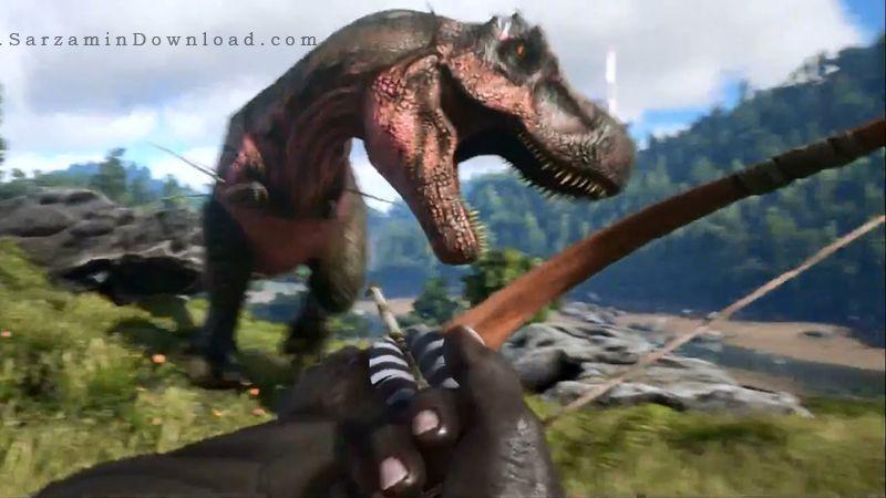 بازی جنگی بقا در سرزمین دایناسورها (برای کامپیوتر) - ARK Survival Evolved 2015 PC Game