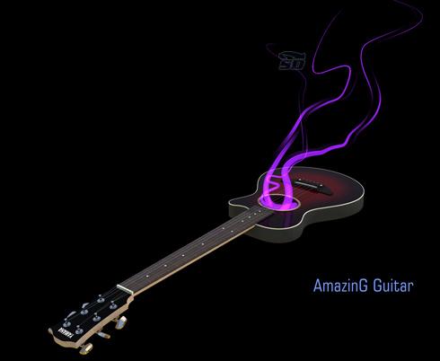 مجموعه رینگتون های نواخته شده با گیتار - Amazing Guitar Ringtone