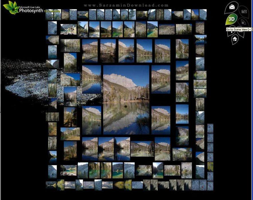 نرم افزار عکسبرداری 360 درجه (برای ویندوز فون) - Photosynth WP