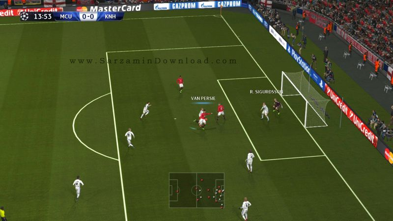 بازی فوتبال PES 2014 (برای مک) - Pro Evolution Soccer 2014 Mac OS Game