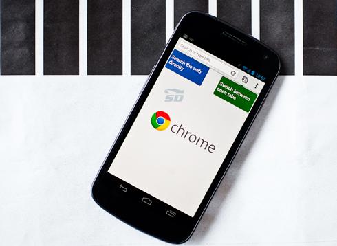 نسخه جدید مرورگر کروم (برای اندروید) - Chrome 44 Android