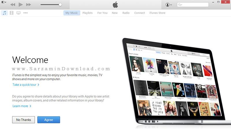 دانلود آخرین ورژن نرم افزار آیتونز برای گوشی های اپل,iTunes 12.3.0,دانلود برنامه itunes,ترفند و اموزش,ترفندهای ایفون,ترفندهای ios,جیلبریک,www.lineee.r98.ir,iphone