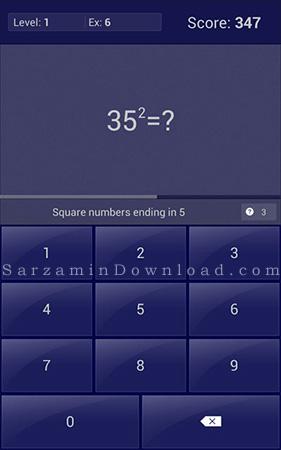نرم افزار ترفندهای ریاضی (برای اندروید) - Math Tricks 9.4 Android