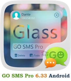 نرم افزار مدیریت اس ام اس به همراه زبان فارسی و پلاگین ها (برای اندروید) - GO SMS Pro Premium 6.33 Android