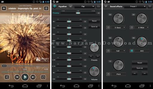 نرم افزار پخش کننده موزیک (برای اندروید) - JetAudio Music Player 6.2.0 Android