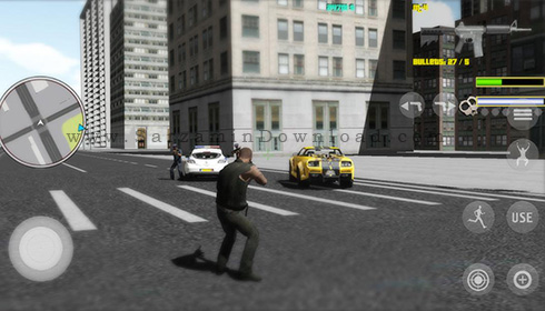 بازی در سبک GTA (برای اندروید) - Mad City Crime 2.03 Android