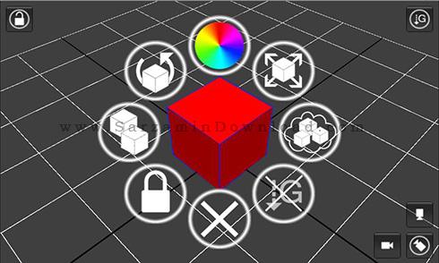نرم افزار طراحی سه بعدی (برای اندروید) - Sketcher 3D Pro 1.43 Android