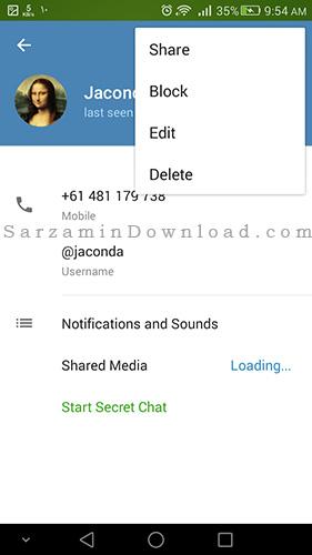 contact+در+تلگرام