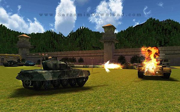 بازی تانک (برای اندروید) - World War Tank Battle 3D 1.1 Android