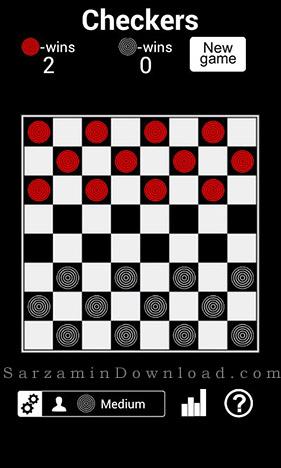 بازی چکرز (برای اندروید) - Checkers HD 1.7 Android