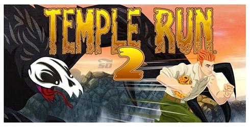 دانلود بازی تمپل ران (برای اندروید) - Temple Run 2 v.1.27 Android - دانلود رایگان