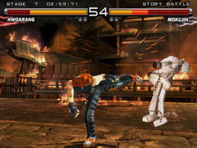 بازی تیکن (برای کامپیوتر) - Tekken 5 PC Game