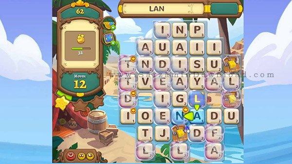 بازی جستجوی کلمات (برای اندروید) - AlphaBetty Saga 1.0.5 Android