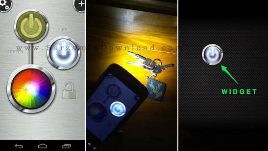 چراغ قوه (برای اندروید) - FlashLight HD LED Pro 1.9 Android