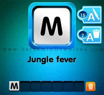 بازی جستجوی کلمات (برای اندروید) - One Clue 1.10 Android