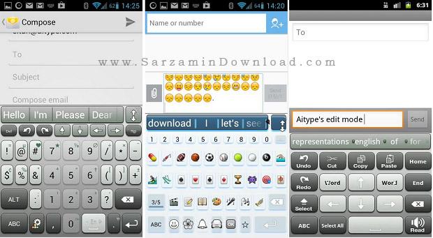 صفحه کلید (برای اندروید) - ai.Type Keyboard Plus 6.6.2 Android