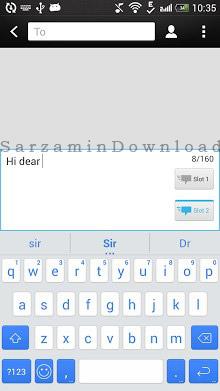 صفحه کلید (برای اندروید) - iKeyboard 4.4 Android