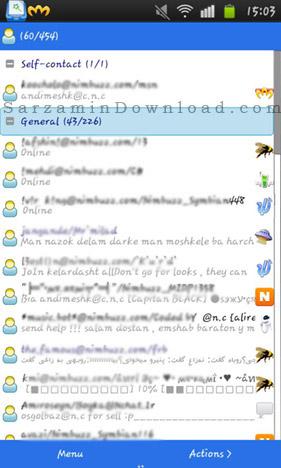 نرم افزار بمبوس (برای اندروید) - BombusMod 0.8.1303 Android