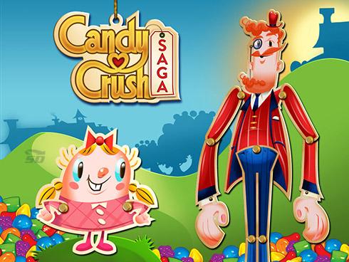 بازی رنگها (برای اندروید) - Candy Crush Saga 1.69 Android