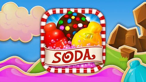 بازی کندی کراش (برای اندروید) - Candy Crush Soda Saga 1.71.3 Android