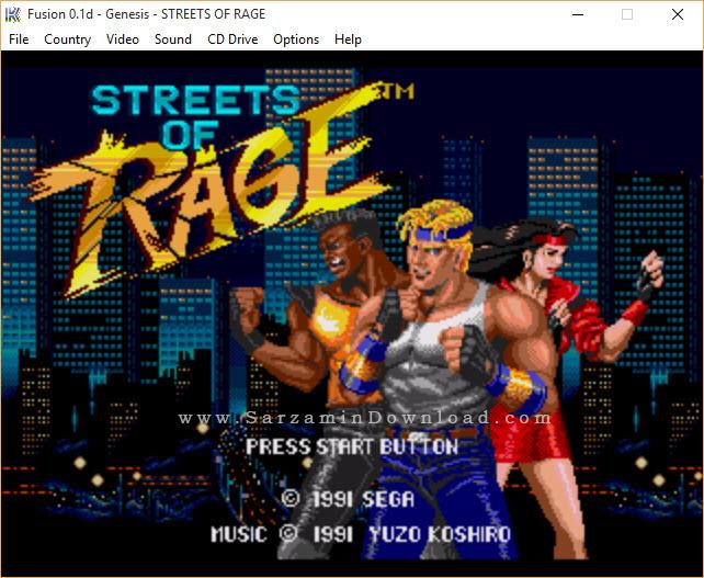 بازی شورش در شهر (برای کامپیوتر) - Streets of Rage 1 PC Game