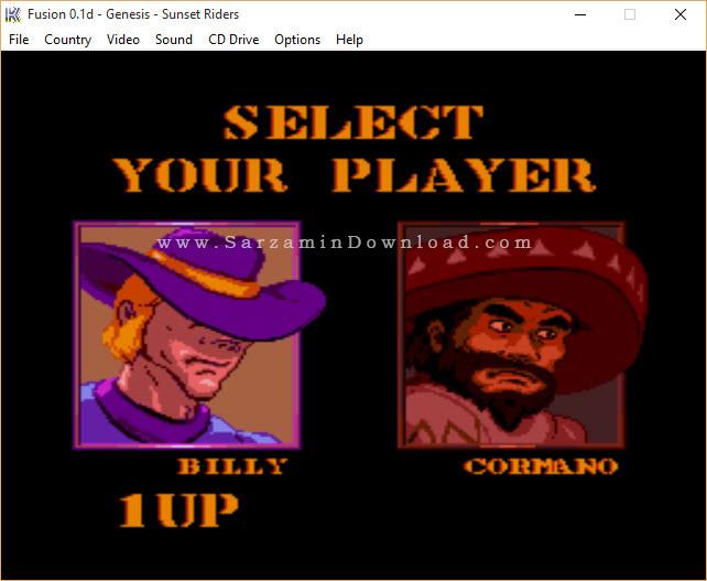 بازی سگا (برای کامپیوتر) - Sunset Riders PC game