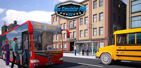 بازی شبیه ساز رانندگی (برای اندروید) - Bus Simulator PRO 2016 v.1.0 Android