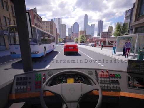 دانلود بازی شبیه ساز رانندگی (برای اندروید) - Bus Simulator PRO ...بازی شبیه ساز رانندگی (برای اندروید) - Bus Simulator PRO 2016 v.1.0