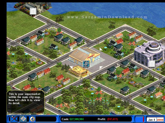 Urban Game (for PC) - Capitalism 2 PC Game