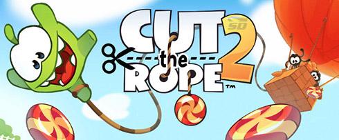بازی طناب را ببر (برای اندروید) - Cut the Rope 2 v.1.6.6 Android
