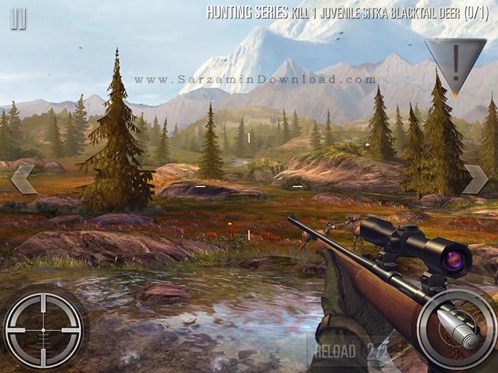 بازی شکار حیوانات (برای اندروید) - Deer Hunter 2016 v.2.0.4 Android
