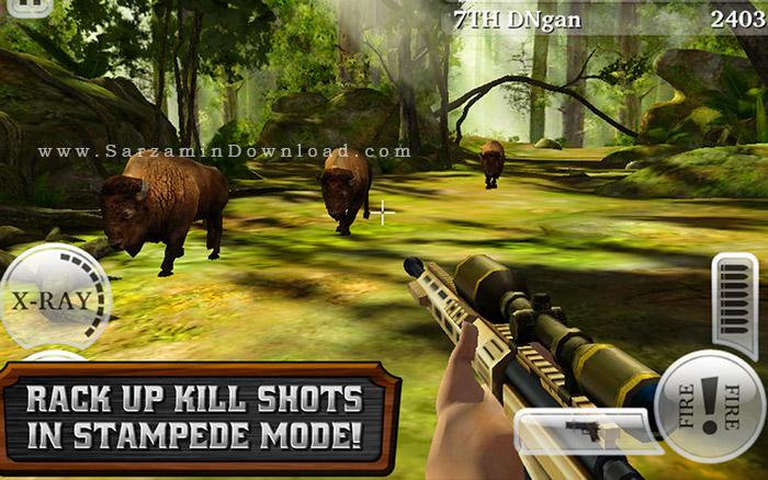بازی شکار حیوانات (برای اندروید) - Deer Hunter Reloaded 3.8.2 Android