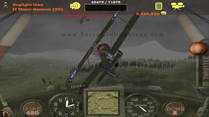 بازی شبیه ساز پرواز (برای اندروید) - Dogfight Elite 1.0.2 Android