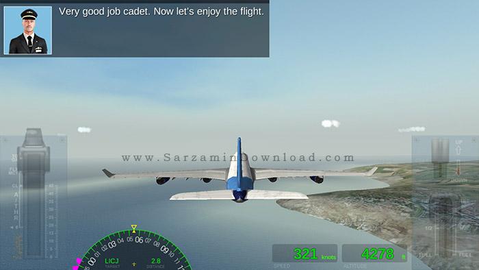 بازی شبیه ساز پرواز (برای اندروید) - Extreme Landings Pro 2.2 Android