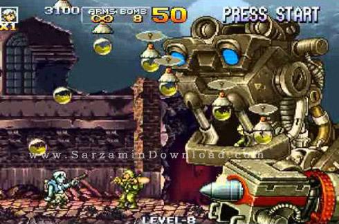 بازی سرباز کوچولو (برای کامپیوتر) - Metal Slug 4 PC Game