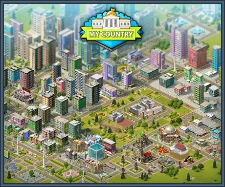 بازی شهرسازی (برای اندروید) - My Country 8.10 Android