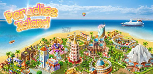 بازی شهرسازی (برای اندروید) - Paradise Island 3.3.5 Android