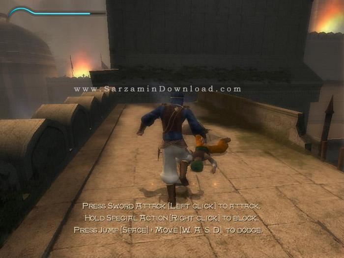 بازی شاهزاده ایرانی (برای کامپیوتر) - Prince of Persia The Sands of Time PC Game