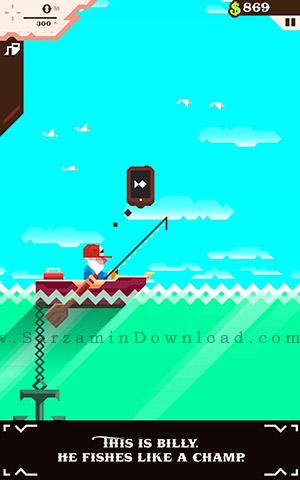 بازی صید ماهی (برای اندروید) - Ridiculous Fishing 1.2 Android