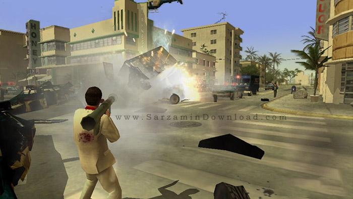 بازی صورت زخمی (برای کامپیوتر) - Scarface PC Game