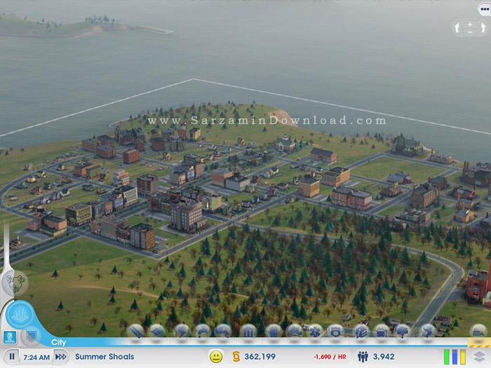 بازی شهرسازی (برای کامپیوتر) - SimCity PC Game