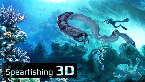 بازی صید ماهی (برای اندروید) - Spearfishing 3D 1.6 Android