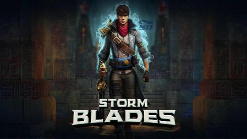 بازی شمشیری (برای اندروید) - Stormblades 1.4.1 Android