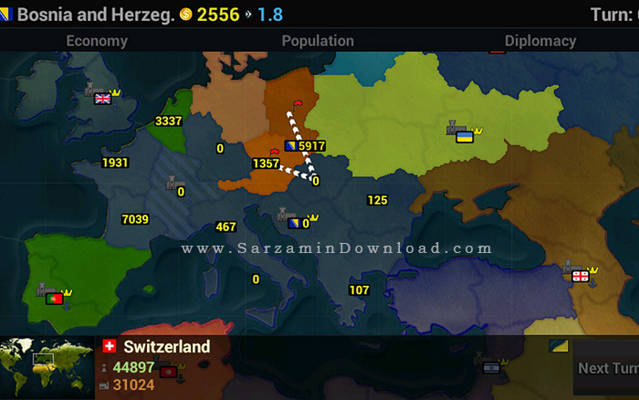بازی ظهور تمدن ها (برای اندروید) - Age of Civilizations 1.153 Android