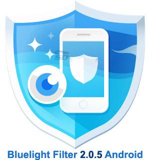 نرم افزار محافظت از چشم (برای اندروید) - Bluelight Filter 2.0.5 Android