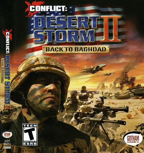 بازی طوفان صحرا (برای کامپیوتر) - Conflict Desert Storm 2 PC Game