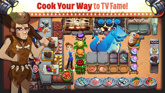 بازی رستوران داری (برای اندروید) - Cooking Dash 2016 v.1.12 Android