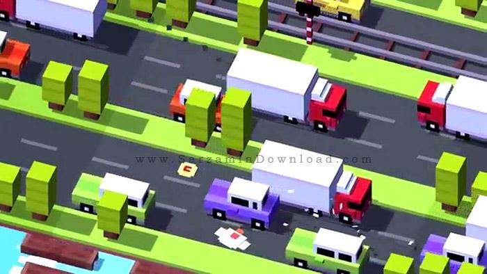 دانلود بازی عبور از جاده (برای اندروید) - Crossy Road 1.9.2 Android - دانلود رایگان  -  دیجی دانلود