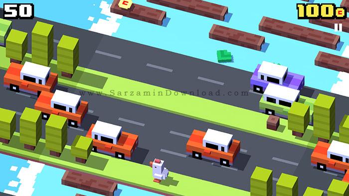 بازی عبور از جاده (برای اندروید) - Crossy Road 1.9.2 Android