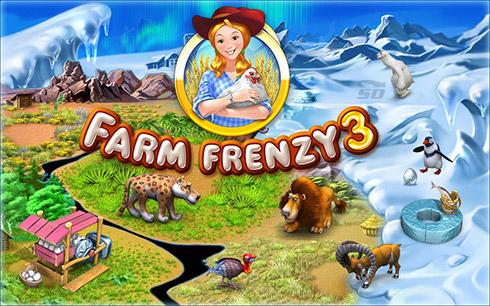 بازی عشق مزرعه داری (برای کامپیوتر) - Farm Frenzy 3 PC Game